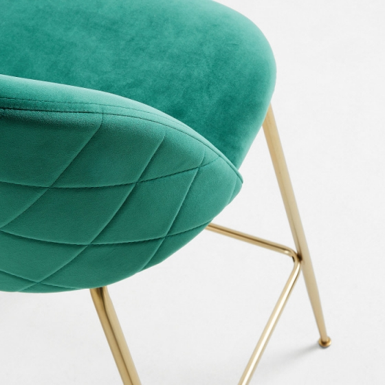 Барный стул Mystere 55X50X108 CM зелёный 4