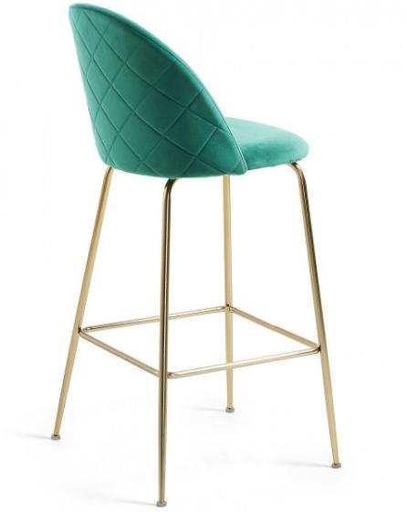 Барный стул Mystere 55X50X108 CM зелёный 3