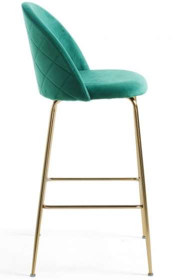 Барный стул Mystere 55X50X108 CM зелёный 2