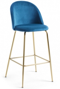 Барный стул Mystere 55X50X108 CM синий