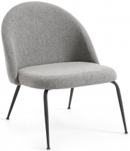 Кресло Mystere 59X63X74 CM серое