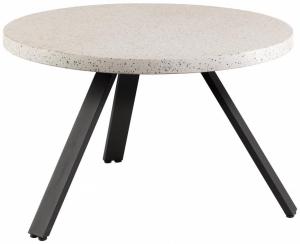 Керамический стол Shanelle 120X120X76 CM белого цвета