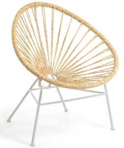 Кресло Samantha 71X75X84 CM бежевого цвета