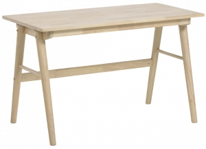 Рабочий стол из каучукового дерева Curie 120X65X73 CM