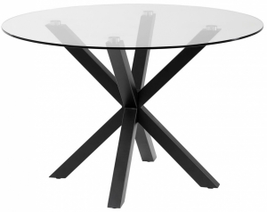 Стеклянный круглый стол Argo 119X119X76 CM