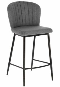 Полубарный стул Madge 49X55X96 CM светло серого цвета