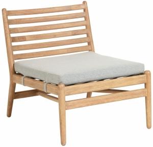 Кресло на каркасе из эвкалипта Simja 62X77X71 CM