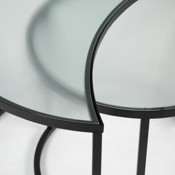 Комплект из двух столиков Bast 46X65X46 / 47X47X40 CM 3