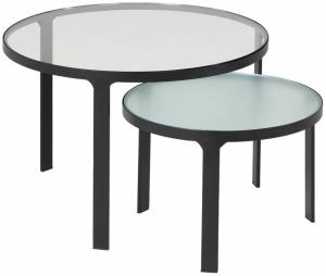 Комплект из двух столиков Oni 50X50X33 / 70X70X43 CM