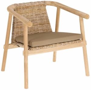Кресло на каркасе из минди Yaira 63X67X66 CM
