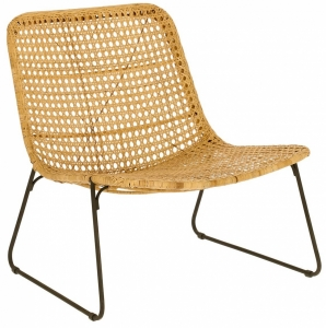 Кресло с классической сотовой оплёткой Leandra 70X73X69 CM