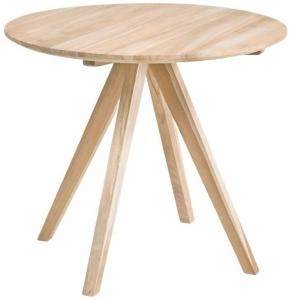 Обеденный стол из тика Maial 90X90X77 CM