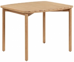 Обеденный стол из эвкалипта Sheryl 90X90X75 CM