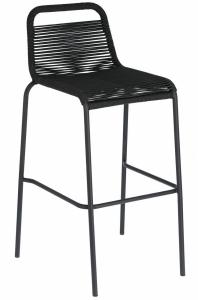 Барный штабелируемый стул Lambton 53X53X100 CM чёрный