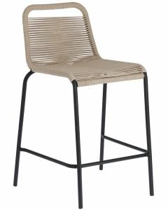 Полубарный стул Lambton 53X53X88 CM бежевого цвета