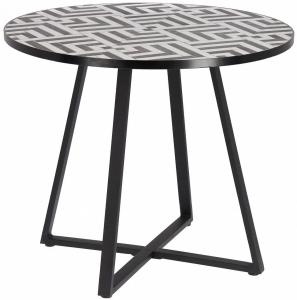 Стол с керамической столешницей Tella 90X90X76 CM