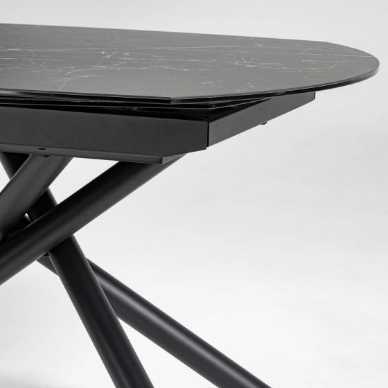 Раздвижной стол Yodalia 130-190X100X78 CM с керамической столешницей 3
