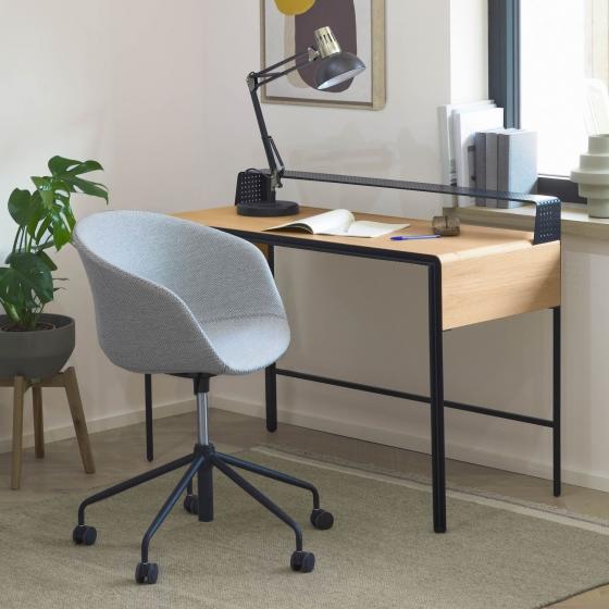 Офисное кресло Yvette 72X72X76-88 CM светло-серого цвета 4
