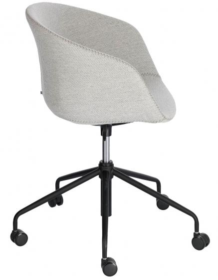 Офисное кресло Yvette 72X72X76-88 CM светло-серого цвета 2