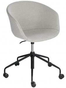 Офисное кресло Yvette 72X72X76-88 CM светло-серого цвета