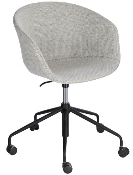 Офисное кресло Yvette 72X72X76-88 CM светло-серого цвета 1