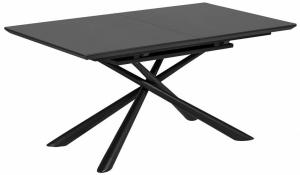 Раздвижной стол со стеклянной столешницей Theone 160-210X90X76 CM
