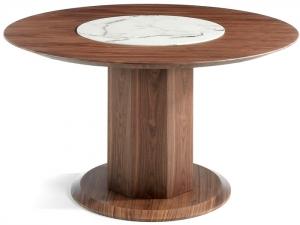 Обеденный стол из ореха Nature Life 120X120X76 CM