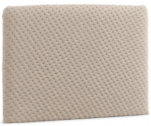 Изголовье для кровати Dyla 108X76 CM бежевого цвета