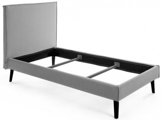 Каркас кровати Venla 90X190 CM серого цвета 1