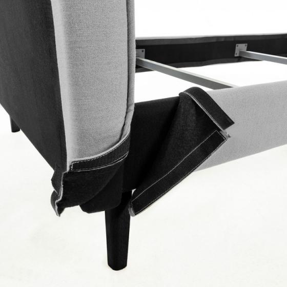 Каркас кровати Venla 90X190 CM серого цвета 6