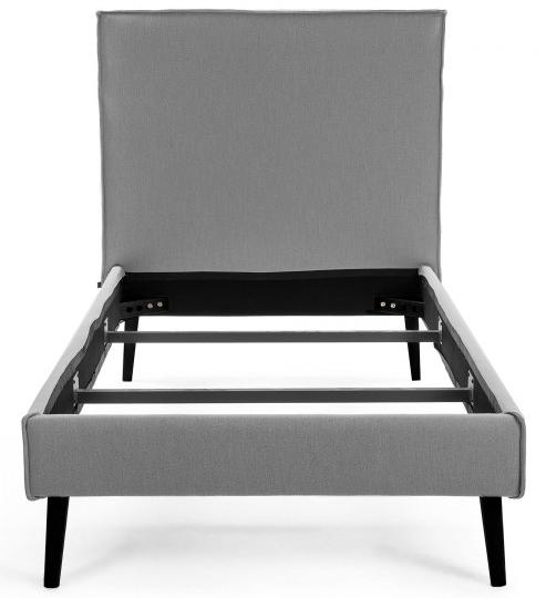 Каркас кровати Venla 90X190 CM серого цвета 2