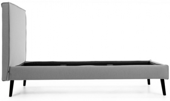 Каркас кровати Venla 140X190 CM серого цвета 2