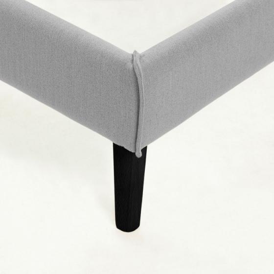Каркас кровати Venla 140X190 CM серого цвета 3