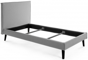Каркас кровати Venla 140X190 CM серого цвета