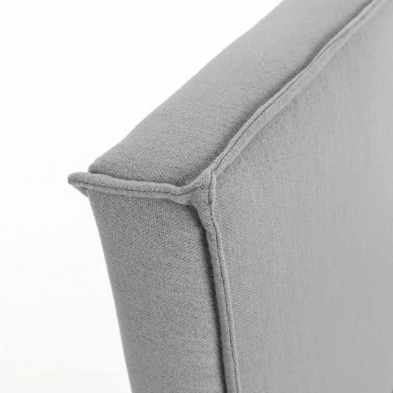 Каркас кровати Venla 140X190 CM серого цвета 4