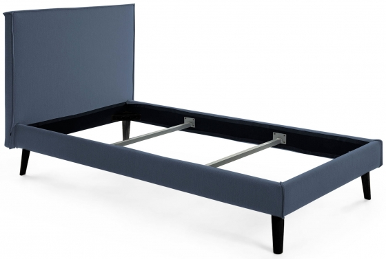 Каркас кровати Venla 140X190 CM серо синего цвета 1