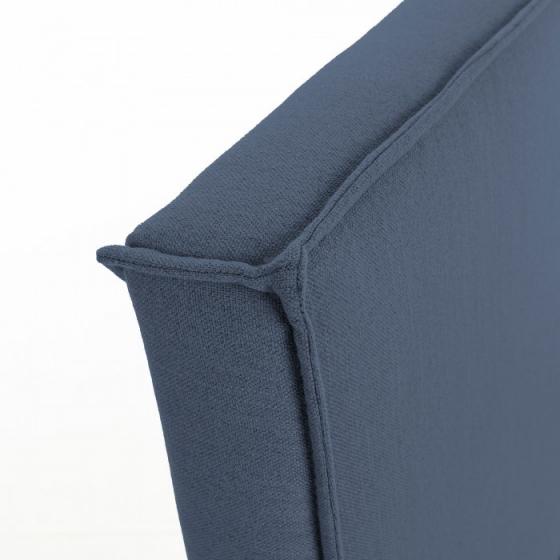 Каркас кровати Venla 140X190 CM серо синего цвета 4