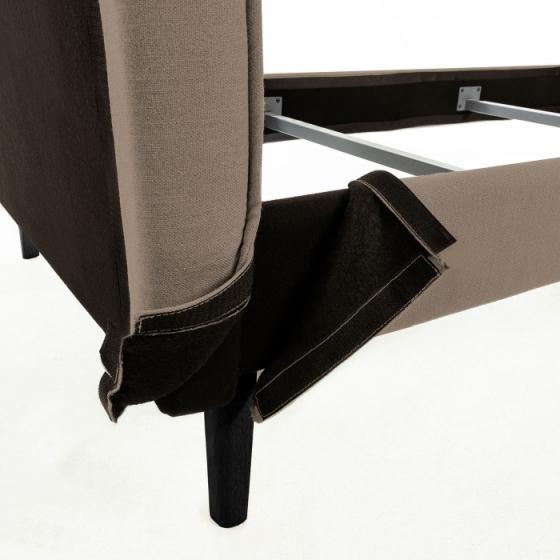 Каркас кровати Venla 150X190 CM коричневого цвета 5