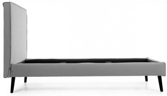 Каркас кровати Venla 150X190 CM серого цвета 2