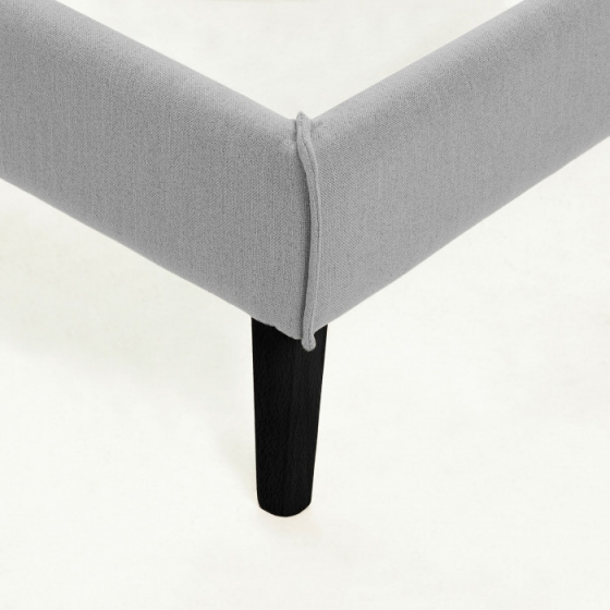 Каркас кровати Venla 150X190 CM серого цвета 3