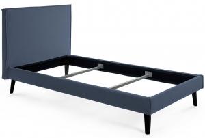Каркас кровати Venla 150X190 CM серо синего цвета