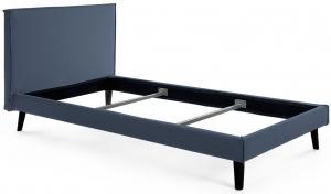 Каркас кровати Venla 160X200 CM серо синего цвета