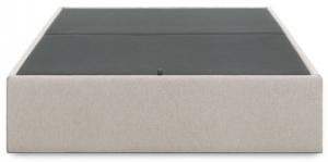 Кровать с отсеком для хранения Matter 90X190X36 CM бежевого цвета