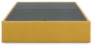 Кровать с отсеком для хранения Matter 90X190X36 CM горчичного цвета