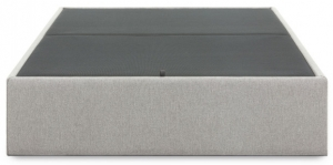 Кровать с отсеком для хранения Matter 140X190X36 CM серого цвета