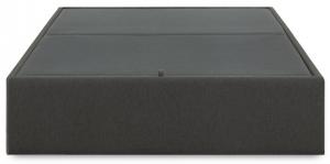 Кровать с местом для хранения Matter 160X200X36 CM тёмно серая
