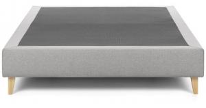 Основание кровати на ножках Nikos 90X190X36 CM серого цвета