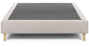 Основание кровати на ножках Nikos 90X190X36 CM бежевого цвета