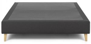 Основание кровати на ножках Nikos 150X190X36 CM тёмно серого цвета