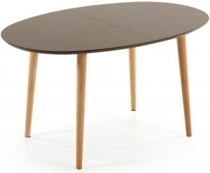 Овальный стол Oakland Brown 140-220X90X74 CM